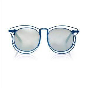 Karen Walker Simone Sunglasses - Navy Color